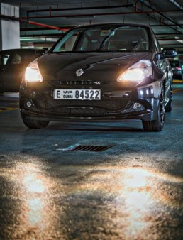 Front Headshot on the Clio RS