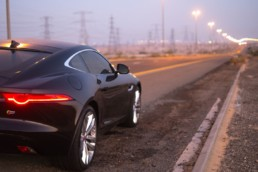Taming the F-Type Coupe in Dubai, UAE