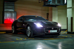 F-Type Coupe in Dubai, UAE