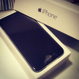 My New Apple iPhone 6 Straight Out of the Box