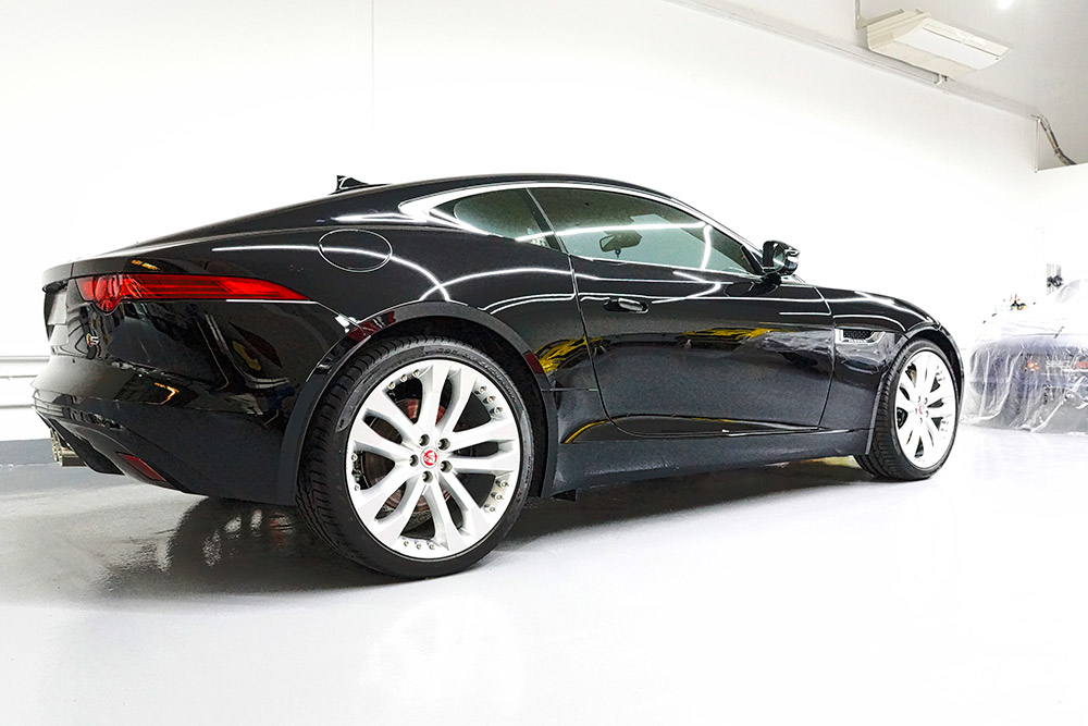 The Final Result at Select Nano on the Jaguar F-Type Coupe